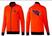 Wholesale Cheap NFL Arizona Cardinals Team Logo Jacket Orange