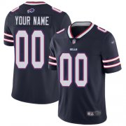 Wholesale Cheap Nike Buffalo Bills Customized Navy Men's Stitched NFL Limited Inverted Legend Jersey