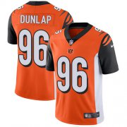 Wholesale Cheap Nike Bengals #96 Carlos Dunlap Orange Alternate Men's Stitched NFL Vapor Untouchable Limited Jersey