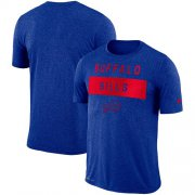 Wholesale Cheap Men's Buffalo Bills Nike Royal Sideline Legend Lift Performance T-Shirt