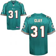 Wholesale Cheap Dolphins #31 Charles Clay Green Stitched NFL Jersey
