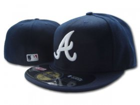 Wholesale Cheap Atlanta Braves fitted hats 03