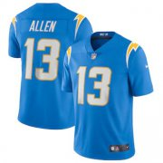 Wholesale Cheap Los Angeles Chargers #13 Keenan Allen Men's Nike Powder Blue 2020 Vapor Limited Jersey
