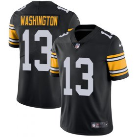 Wholesale Cheap Nike Steelers #13 James Washington Black Alternate Youth Stitched NFL Vapor Untouchable Limited Jersey