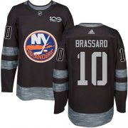 Wholesale Cheap Adidas Islanders #10 Derek Brassard Black 1917-2017 100th Anniversary Stitched NHL Jersey