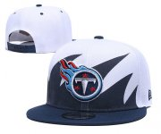 Wholesale Cheap Titans Team Logo Navy White Adjustable Hat