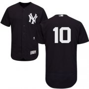 Wholesale Cheap Yankees #10 Phil Rizzuto Navy Blue Flexbase Authentic Collection Stitched MLB Jersey