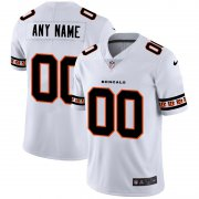 Wholesale Cheap Cincinnati Bengals Custom Nike White Team Logo Vapor Limited NFL Jersey