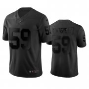 Wholesale Cheap Las Vegas Raiders #59 Tahir Whitehead Black Vapor Limited City Edition NFL Jersey