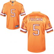 Wholesale Cheap Buccaneers #5 Josh Freeman Yellow Stitched NFL Jersey