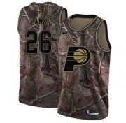 Wholesale Cheap Nike Pacers #26 Jeremy Lamb Camo NBA Swingman Realtree Collection Jersey