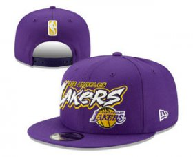 Wholesale Cheap Los Angeles Lakers Snapback Ajustable Cap Hat YD 19