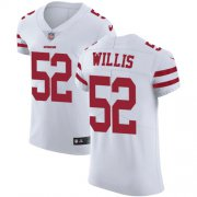 Wholesale Cheap Nike 49ers #52 Patrick Willis White Men's Stitched NFL Vapor Untouchable Elite Jersey