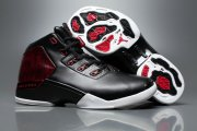 Wholesale Cheap Air Jordan 17 Bulls Black Red White