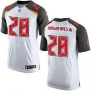 Wholesale Nike Buccaneers #28 Vernon Hargreaves III White Men's Stitched NFL New Elite Jersey