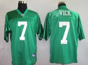 Wholesale Cheap Eagles Michael Vick #7 Stitched 1960 Throwback Green NFL Jersey