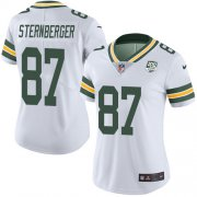 Wholesale Cheap Nike Packers #87 Jace Sternberger White Women's 100th Season Stitched NFL Vapor Untouchable Limited Jersey