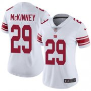 Wholesale Cheap Nike Giants #29 Xavier McKinney White Women's Stitched NFL Vapor Untouchable Limited Jersey