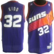 Wholesale Cheap Phoenix Suns #32 Jason Kidd Purple Swingman Throwback Jersey