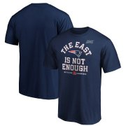 Wholesale Cheap New England Patriots NFL 2019 AFC East Division Champions Big & Tall T-Shirt Navy