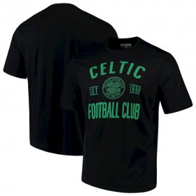 Wholesale Cheap Celtic Levelwear Vintage Richmond Tackle T-Shirt Black