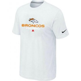 Wholesale Cheap Nike Denver Broncos Big & Tall Critical Victory NFL T-Shirt White