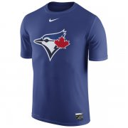 Wholesale Cheap Toronto Blue Jays Nike Authentic Collection Legend Logo 1.5 Performance T-Shirt Royal