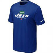 Wholesale Cheap Nike New York Jets Big & Tall Critical Victory NFL T-Shirt Blue
