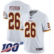 Wholesale Cheap Nike Redskins #26 Adrian Peterson White Men's Stitched NFL 100th Season Vapor Limited Jersey