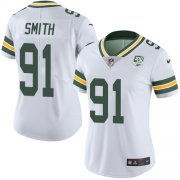 Wholesale Cheap Nike Packers #91 Preston Smith White Women's 100th Season Stitched NFL Vapor Untouchable Limited Jersey