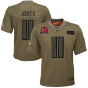 Wholesale Cheap Nike Falcons #45 Deion Jones Camo Youth Stitched NFL Limited 2019 Salute to Service Jersey