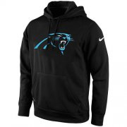 Wholesale Cheap Men's Carolina Panthers Nike Black KO Logo Essential Hoodie