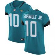 Wholesale Cheap Nike Jaguars #10 Laviska Shenault Jr. Teal Green Alternate Men's Stitched NFL New Elite Jersey