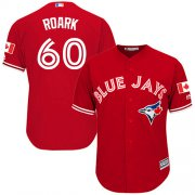 Wholesale Cheap Blue Jays #60 Tanner Roark Red New Cool Base Stitched Youth MLB Jersey