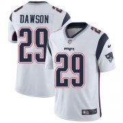 Wholesale Cheap Nike Patriots #29 Duke Dawson White Men's Stitched NFL Vapor Untouchable Limited Jersey