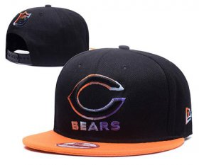 Wholesale Cheap NFL Chicago Bears Stitched Snapback Hats 045