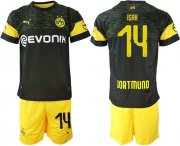 Wholesale Cheap Dortmund #14 Isak Away Soccer Club Jersey