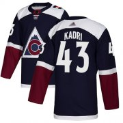 Wholesale Adidas Avalanche #1 Semyon Varlamov Burgundy Home Authentic Drift Fashion Stitched NHL Jersey