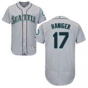 Wholesale Cheap Mariners #17 Mitch Haniger Grey Flexbase Authentic Collection Stitched MLB Jersey