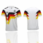 Wholesale Cheap Germany Blank White 1990 Throwback Soccer Country Jersey