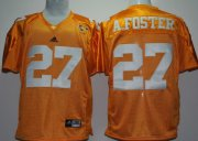 Wholesale Cheap Tennessee Volunteers #27 Arian Foster Orange Jersey