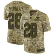 Wholesale Cheap Nike Saints #28 Latavius Murray Camo Men's Stitched NFL Limited 2018 Salute To Service Jersey