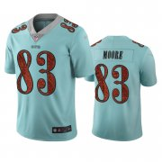 Wholesale Cheap Seattle Seahawks #83 David Moore Light Blue Vapor Limited City Edition NFL Jersey