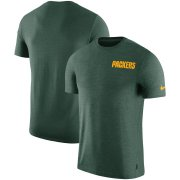 Wholesale Cheap Green Bay Packers Nike On-Field Coaches UV Performance T-Shirt Green