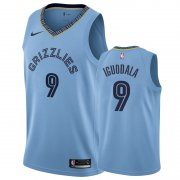 Wholesale Cheap Nike Grizzlies #9 Andre Iguodala Blue Statement Edition Men's NBA Jersey