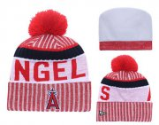 Wholesale Cheap MLB Los Angeles Angels Logo Stitched Knit Beanies 001