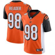 Wholesale Cheap Nike Bengals #98 D.J. Reader Orange Alternate Men's Stitched NFL Vapor Untouchable Limited Jersey