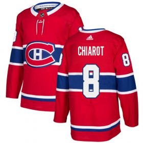 Wholesale Cheap Adidas Canadiens #8 Ben Chiarot Red Home Authentic Stitched NHL Jersey