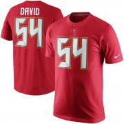 Wholesale Cheap Tampa Bay Buccaneers #54 Lavonte David Nike Player Pride Name & Number T-Shirt Red