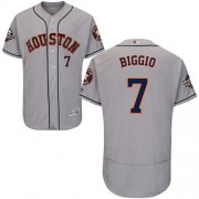 Wholesale Cheap Astros #7 Craig Biggio Grey Flexbase Authentic Collection 2019 World Series Bound Stitched MLB Jersey